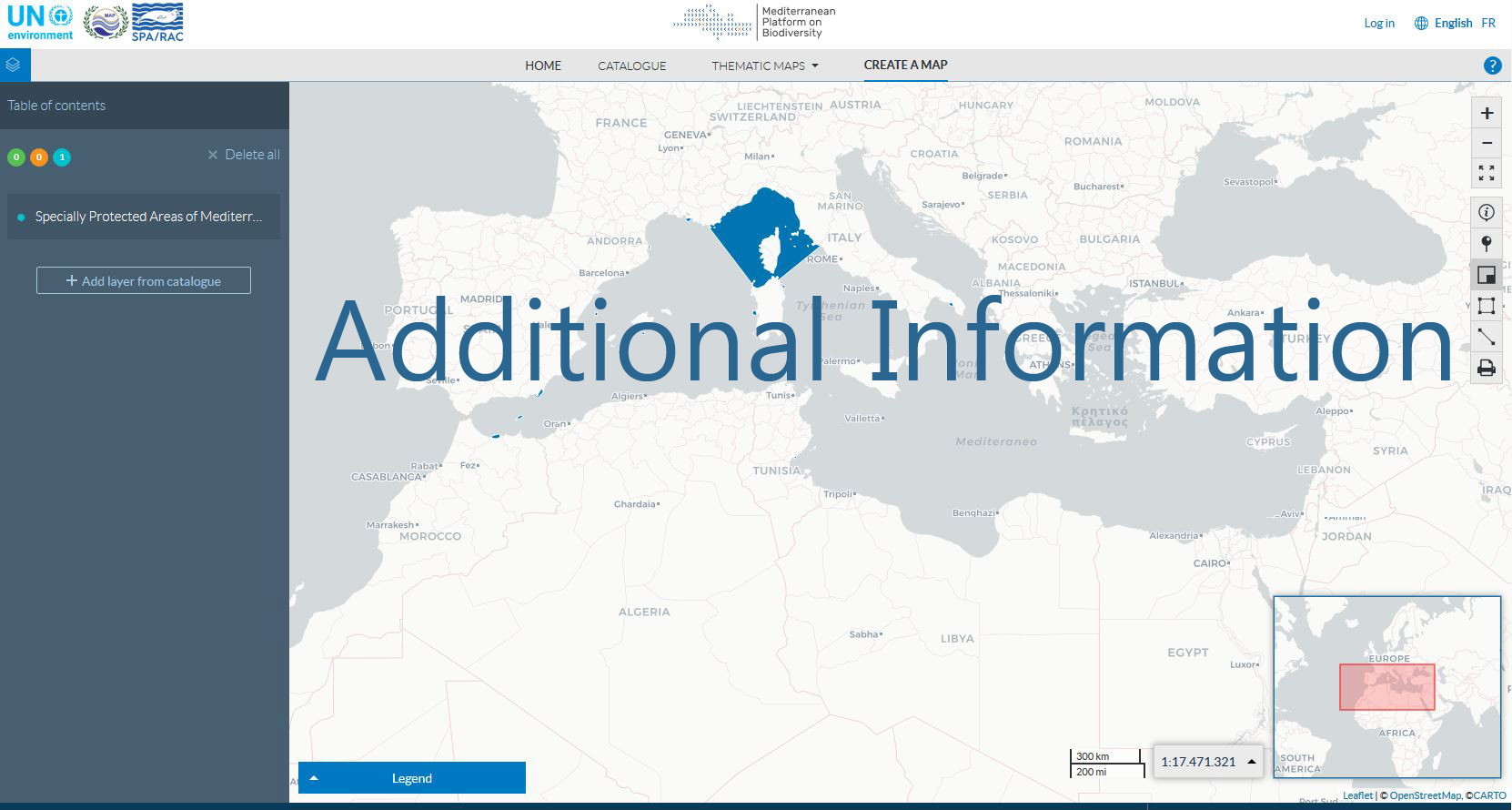 GIS ToR Additionnal Information