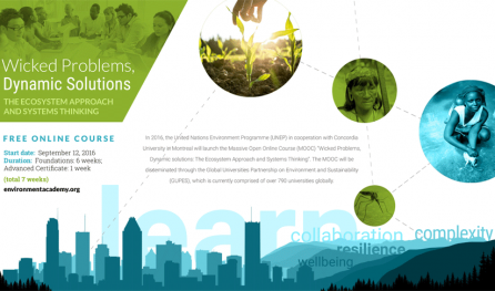 MOOC_The Ecosystem Approach and Systems Thinking