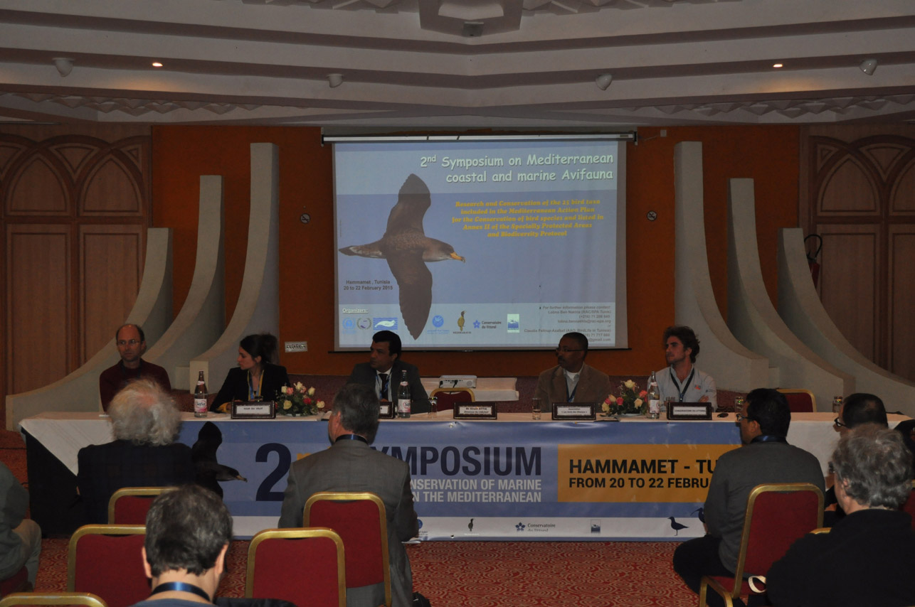 Symposiums podium