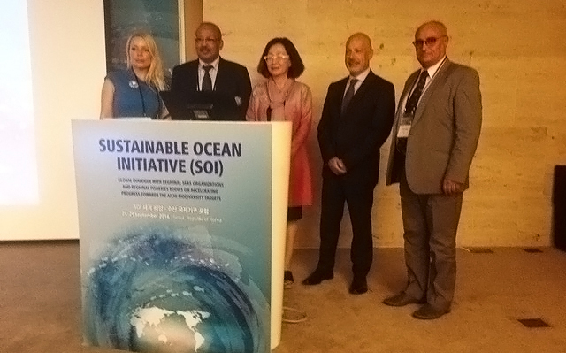 RAC/SPA attends the Sustainable Ocean Initiative meeting in Seoul
