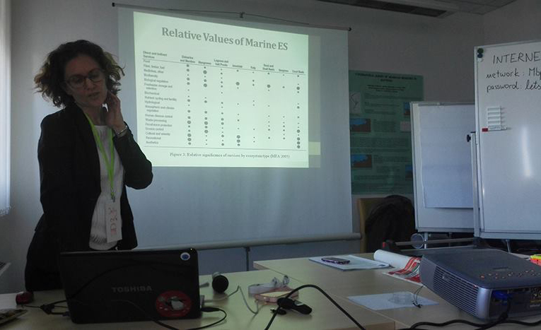 Mediterranean training session on the evaluation of marine ecosystems services